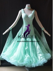 KAKA DANCE B1424,Ballroom Standard Dance Dress,Waltz Dance Competition Dress,Women,Girl,Ballroom Dance Dress