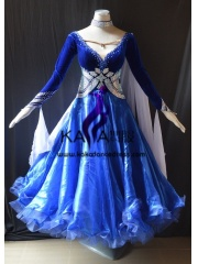 KAKA DANCE B1426,Ballroom Standard Dance Dress,Waltz Dance Competition Dress,Women,Girl,Ballroom Dance Dress