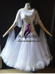 KAKA DANCE B1427,Ballroom Standard Dance Dress,Waltz Dance Competition Dress,Women,Girl,Ballroom Dance Dress