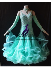 KAKA DANCE B1430,Ballroom Standard Dance Dress,Waltz Dance Competition Dress,Women,Girl,Ballroom Dance Dress