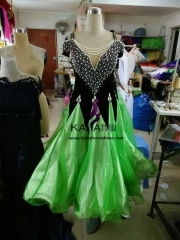 KAKA DANCE B1431,Ballroom Standard Dance Dress,Waltz Dance Competition Dress,Women,Girl,Ballroom Dance Dress