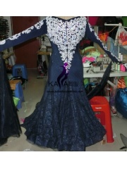 KAKA DANCE B1434,Ballroom Standard Dance Dress,Waltz Dance Competition Dress,Women,Girl,Ballroom Dance Dress
