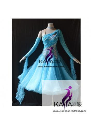 KAKA DANCE B1435,Ballroom Standard Dance Dress,Waltz Dance Competition Dress,Women,Girl,Ballroom Dance Dress