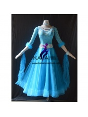 KAKA DANCE B1436,Ballroom Standard Dance Dress,Waltz Dance Competition Dress,Women,Girl,Ballroom Dance Dress