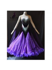 KAKA DANCE B1439,Ballroom Standard Dance Dress,Waltz Dance Competition Dress,Women,Girl,Ballroom Dance Dress