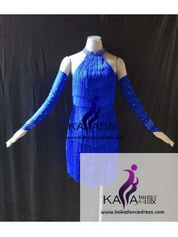 KAKAL1488,Women Latin Dance Wear,Girls Salsa Practice Dance Dress Tango Samba Rumba Chacha Dance Dress,Latin Dance Dress
