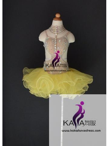 KAKAL1505,Women Latin Dance Wear,Girls Salsa Practice Dance Dress Tango Samba Rumba Chacha Dance Dress,Latin Dance Dress