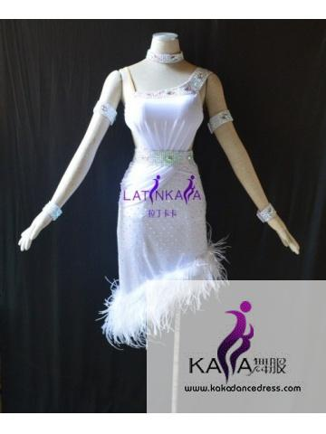 KAKAL1422,Women Latin Dance Wear,Girls Salsa Practice Dance Dress Tango Samba Rumba Chacha Dance Dress,Latin Dance Dress