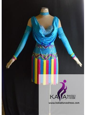 KAKAL1512,Women Latin Dance Wear,Girls Salsa Practice Dance Dress Tango Samba Rumba Chacha Dance Dress,Latin Dance Dress
